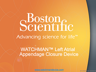 WATCHMAN Left Atrial Appendage Closure Education Presentation