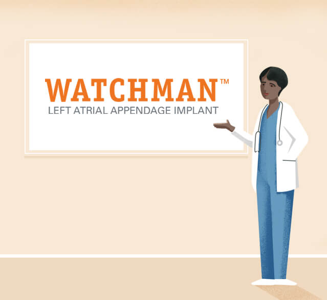 WATCHMAN physican illustration