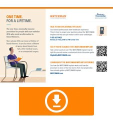 WATCHMAN Patient CARE Card
