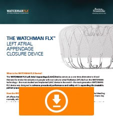 WATCHMAN FLX Fact Sheet Thumbnail