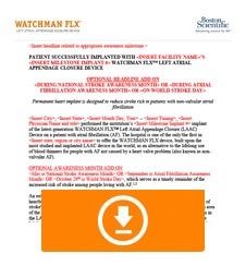 WATCHMAN FLX Press Release Template Thumbnail